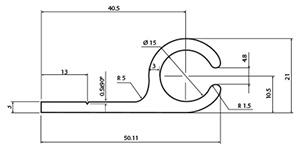 profili-all anod 15mm alette-schema